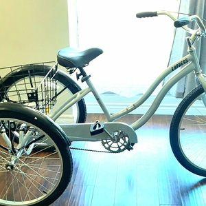 "26"" 3 wheel bike"